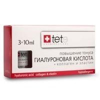 TETe Hyaluronic acid Collagen and Elastin Гиалуроновая кислота Коллаген и эластин 30мл