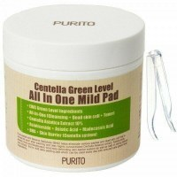Centella Green Level All In One Mild Pad Пилинг пэды с BHA и центеллой 130мл*70шт