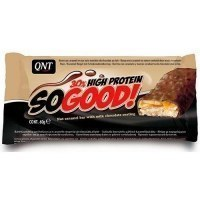 QNT So Good Bar 30% High Protein Протеиновый батончик Шоколад-карамель 60гр