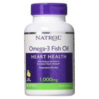 Natrol Omega-3 Fish Oil 1000mg Омега 3 1000мг 90 гел капс