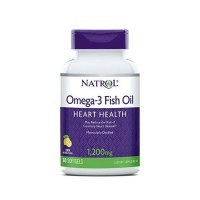 Natrol Omega-3 Fish Oil 1200mg Омега 3 1200мг 60 капс