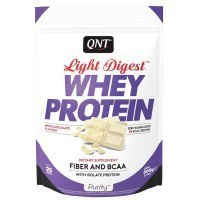 QNT Light Digest Whey Protein Протеин Белый шоколад 500гр