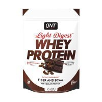 QNT Light Digest Whey Protein Протеин Бельгийский шоколад 500гр