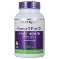 Natrol Omega-3 Fish Oil 1000mg Омега 3 1000мг 60 гел капс